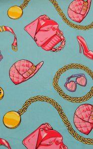 Ткань костюмно-плательная Moschino 27-3/468 по выгодной стоимости в Екатеринбурге