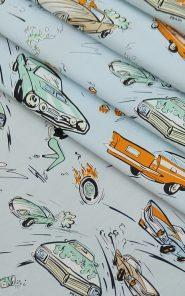 Ткань сорочечная Prada купон 1,4м 27-5/609 по выгодной стоимости в Екатеринбурге