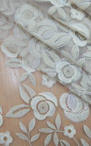 Вышивка на органзе 14-1/387 по выгодной стоимости в Екатеринбурге