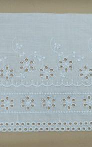 Вышивка на хлопке тесьмой 33-16/162 по выгодной стоимости в Екатеринбурге
