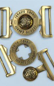 Пряжка металлическая Roberto Cavalli 33-19/125 по выгодной стоимости в Екатеринбурге