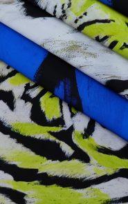 Ткань плательно-блузочная Just Cavalli купон 0,6м 07-3/479 по выгодной стоимости в Екатеринбурге