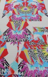 Ткань плательная купон 2,16м Just Cavalli 07-3/470 по выгодной стоимости в Екатеринбурге