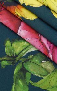 Ткань плательная Blumarine 07-3/656 по выгодной стоимости в Екатеринбурге